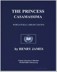 The Princess Casamassima by James, Henry