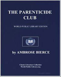 The Parenticide Club by Bierce, Ambrose