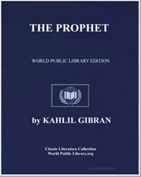 The Prophet by Gibran, Kahlil