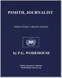 Psmith, Journalist by Wodehouse, Pelham Grenville
