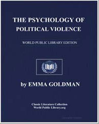 The Psychology of Political Violence by Goldman, Emma