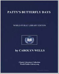 Patty's Butterfly Days by Wells, Carolyn