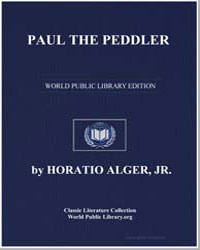 Paul the Peddler by Alger, Horatio, Jr.