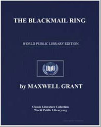 The Blackmail Ring by Grant, Maxwell
