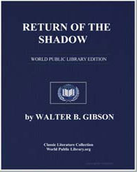 Return of the Shadow by Gibson, Walter B.