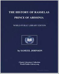 The History of Rasselas, Prince of Abiss... by Johnson, Samuel
