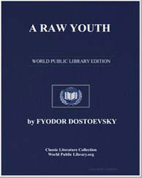 A Raw Youth by Dostoevsky, Fyodor
