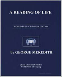 A Reading of Life by Meredith, George