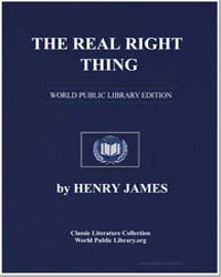 The Real Right Thing by James, Henry