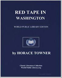 Red Tape in Washington by Towner, Horace
