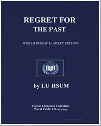 Regret for the Past by Hsun, Lu