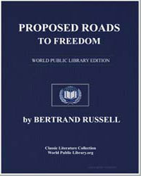 Proposed Roads to Freedom by Russell, Bertrand