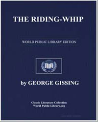 The Riding-Whip by Gissing, George