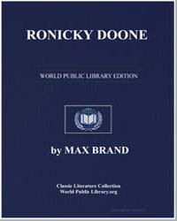 Ronicky Doone by Brand, Max