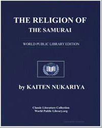 The Religion of the Samurai by Nukariya, Kaiten