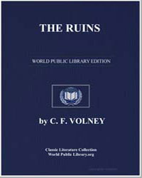 The Ruins; Or, Meditation on the Revolut... by Volney, Constantin François