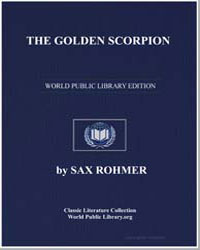 The Golden Scorpion by Rohmer, Sax