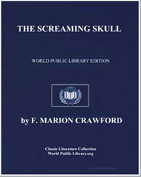 The Screaming Skull by Crawford, Francis Marion
