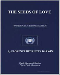 The Seeds of Love by Darwin, Florence Henrietta Fisher, Lady