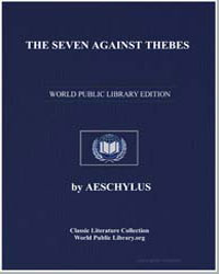 The Seven against Thebes by Æschylus