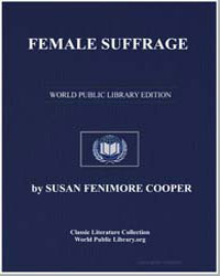 Female Suffrage by Cooper, Susan Fenimore