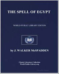 The Spell of Egypt by Mcspadden, Joseph Walker