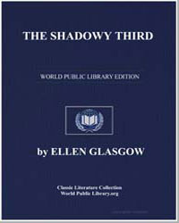 The Shadowy Third by Glasgow, Ellen