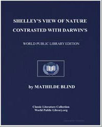 Shelley's View of Nature Contrasted with... by Blind, Mathilde