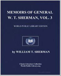 Memoirs of General W. T. Sherman by Sherman, William Tecumseh