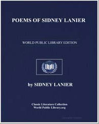 Poems of Sidney Lanier by Lanier, Sidney