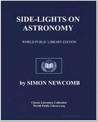 Side-Lights on Astronomy and Kindred Fie... by Newcomb, Simon