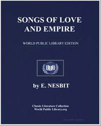 Songs of Love and Empire by Nesbit, Edith