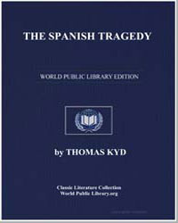 The Spanish Tragedy by Kyd, Thomas