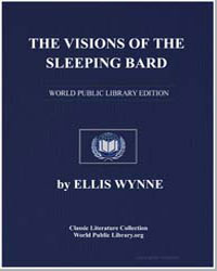 The Visions of the Sleeping Bard by Wynne, Ellis