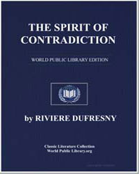 The Spirit of Contradiction by Dufresny, Riviere