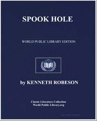 A Doc Savage Adventure : Spook Hole by Robeson, Kenneth