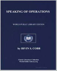 Speaking of Operations by Cobb, Irvin S.