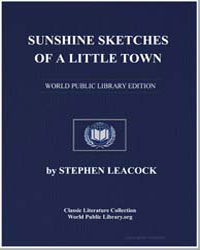 Sunshine Sketches of a Little Town by Leacock, Stephen