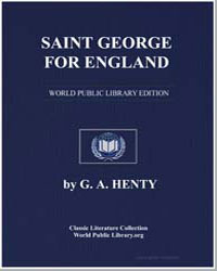 Saint George for England by Henty, George Alfred