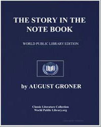 The Story in the Notebook by Groner, August