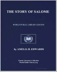 The Story of Salome by Edwards, Amelia B.