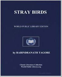 Stray Birds by Tagore, Rabindranath, Sir