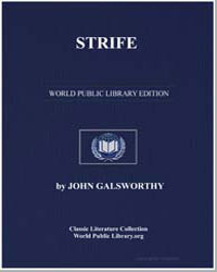 Strife by Galsworthy, John