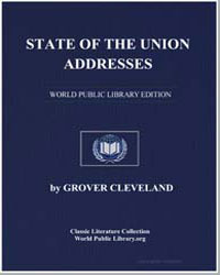 State of the Union Addresses by Cleveland, Grover