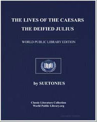 The Lives of the Caesars : The Deified J... by Suetonius