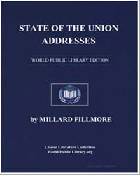 State of the Union Addresses by Fillmore, Millard