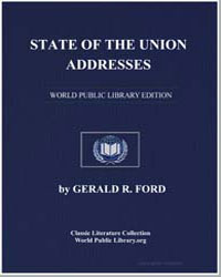 State of the Union Addresses by Ford, Gerald R., Honorable