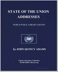 State of the Union Addresses by Adams, John Quincy