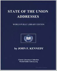 State of the Union Addresses by Kennedy, John F.