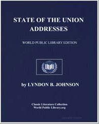 State of the Union Addresses by Johnson, Lyndon B.
